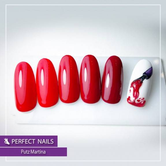 LacGel LaQ X - The Red Classics Gel Polish Collection