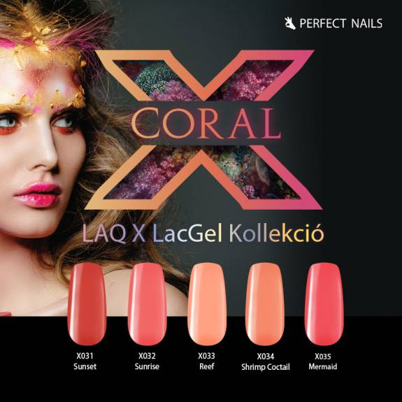 LacGel LaQ X - Coral Gel Polish Collection